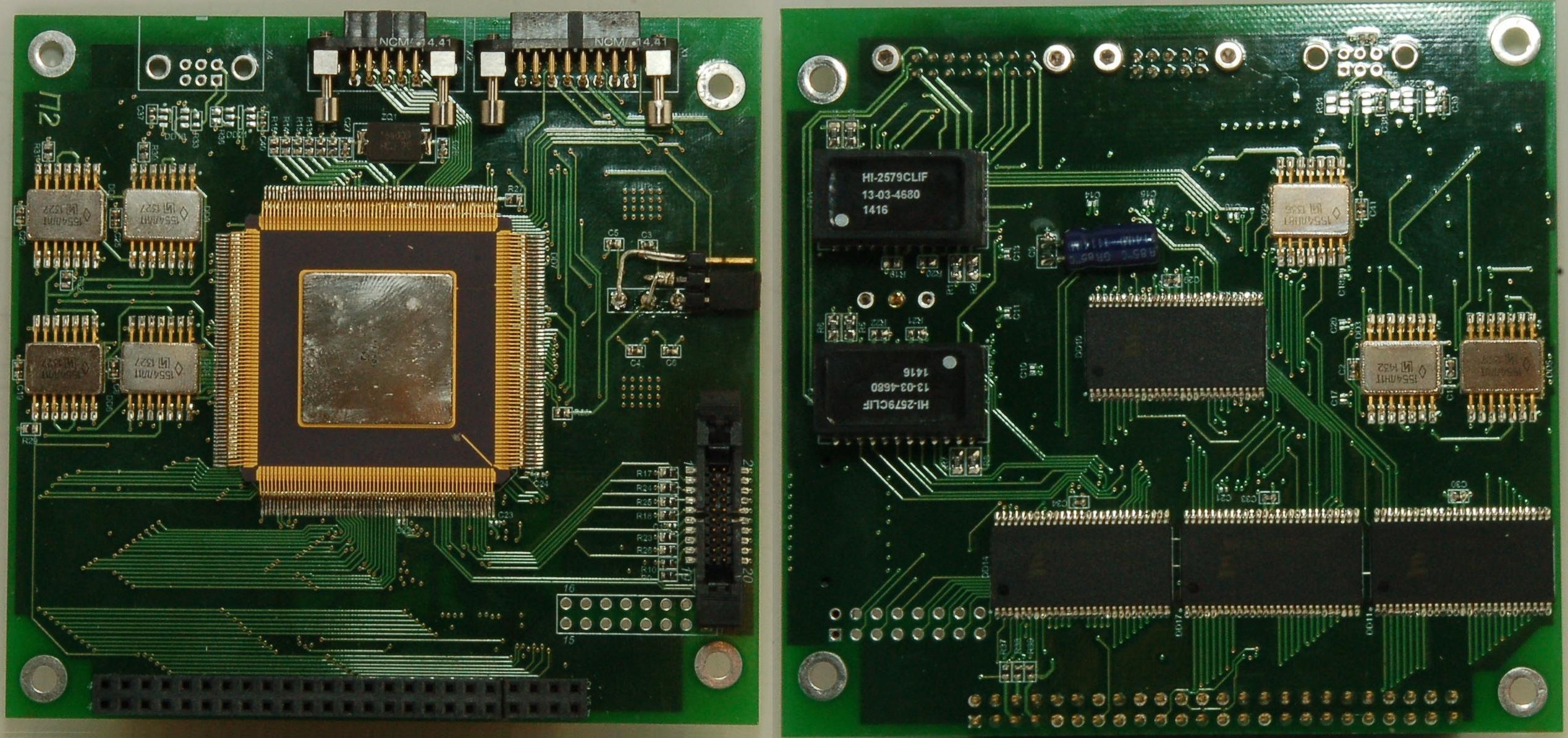Процессорный модуль (микроконтроллер 1986ВЕ3Т
