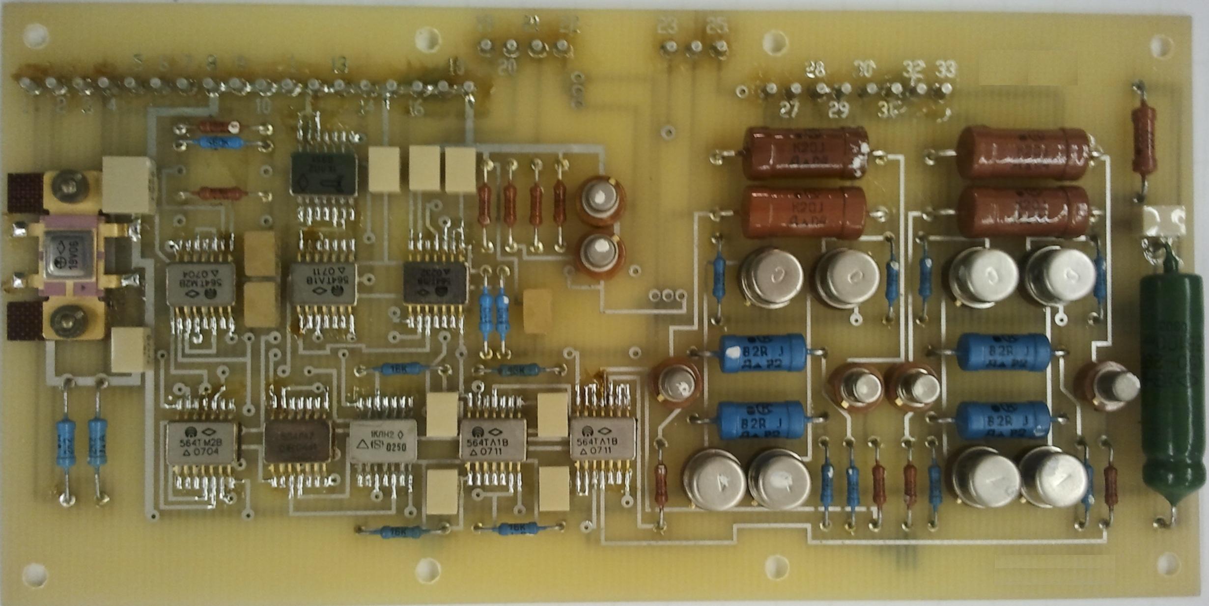 Модуль управления моментным бесконтактным двигателем