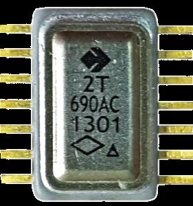 Рисунок 1 – Внешний вид транзисторной сборки 2Т690АС