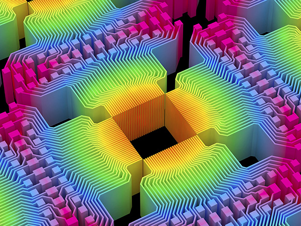 Визуализация квантовых вычислительных элементов