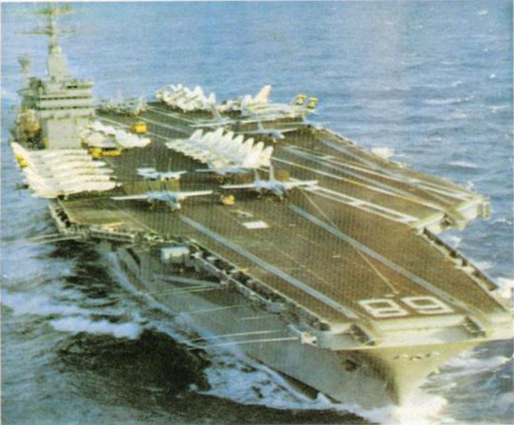 Крупнейший в ВМС США атомный авианосец «НИМИТЦ»