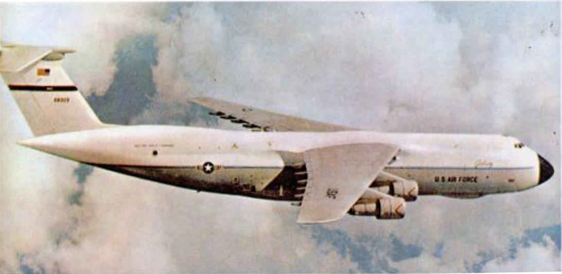 Военно-транспортный самолёт C-5А «ГЭЛЕКСИ»