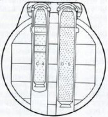 Относительною размеры ракет «Трайдент-1» (С-4) – слева и «Трайдент-2» (D-5) справа в пусковых установках атомной ракетной подводной лодки типа «Огайо»