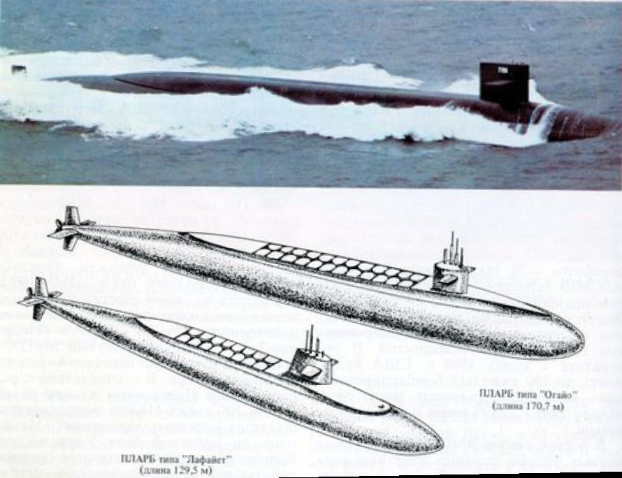 Атомная ракетная подводная лодка «ОГАЙО»