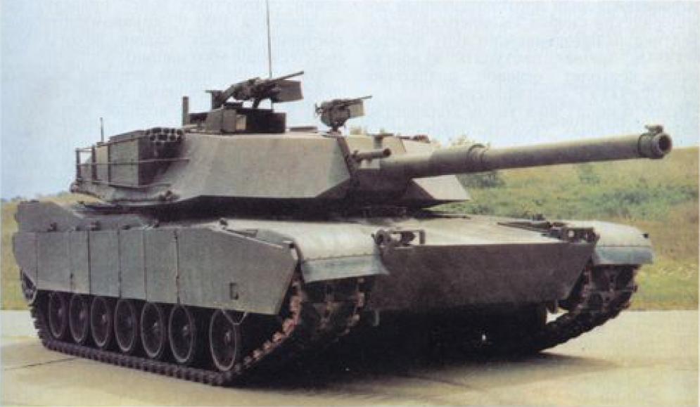 Основной боевой танк М-1 «АБРАМС»