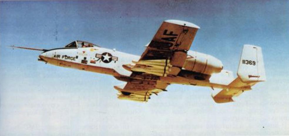 Штурмовик А-10 «ТАНДЕРБОЛТ»