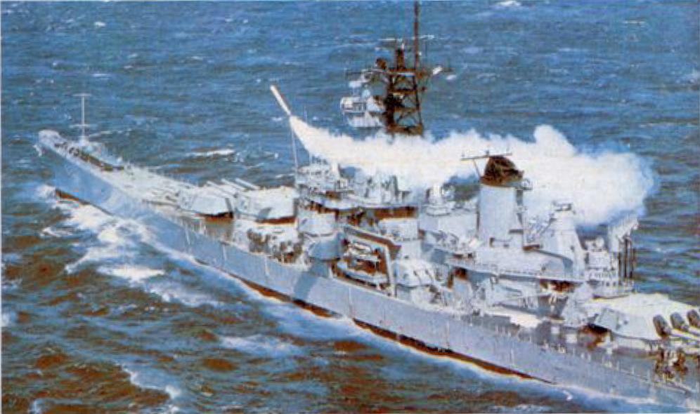 Линейный корабль «НЬЮ-ДЖЕРСИ»