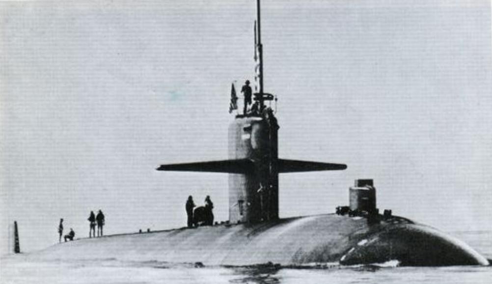 Атомная подводная лодка «ИНДИАНАПОЛИС» (типа «ЛОС-АНДЖЕЛЕС»)