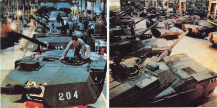 Сборочная линия танка М-1 «АБРАМС»